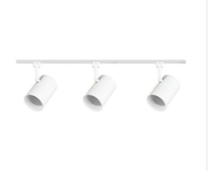 white linear track lighting. Image Is Loading Royal-Pacific-3-Light-48-in-White-Flat- White Linear Track Lighting A