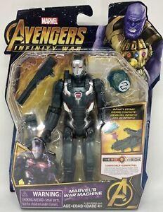 War-Machine-6-034-Action-Figure-w-Infinity-Stone-Marvel-Avengers-Infinity-War