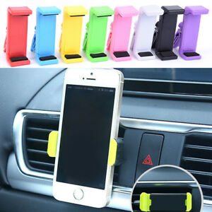 Universal-Car-Air-Vent-Stand-Mount-Cradle-Holder-For-Cell-Phone-Smart-Phone-HLJ