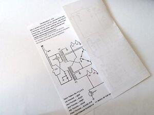 Thunderbolt 305 Ham Radio Linear Amplifier Schematics | eBay