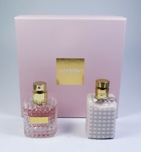 Valentino-Donna-50ml-Edp-Eau-de-Toilette-100ml-Locion-Corporal-Set