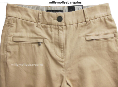 New Womens Marks & Spencer Beige Skinny Trousers Size 22 20 18 16 14 12 10 8