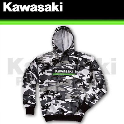 Factory Effex Kawasaki Lines Zip Hoody XX-Large Charcoal