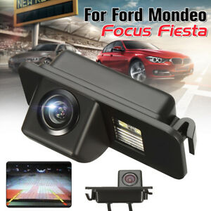 Coche-Camara-De-Vista-Trasera-Reversa-CCD-Cam-Para-Ford-Mondeo-Focus-Fiesta-Kuga