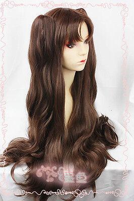 Fate/stay night Rin Tohsaka Dark Brown New Cosplay Wig Hair