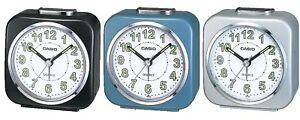 Casio-Collection-Wake-Up-Timer-Visage-Blanc-W-ILLUMINES-Mains-Reveil-TQ-143S