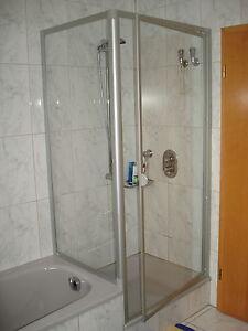 duschkabine 80x80 185 160 cm dreht r seitenwand verk rzt duschabtrennung ebay. Black Bedroom Furniture Sets. Home Design Ideas