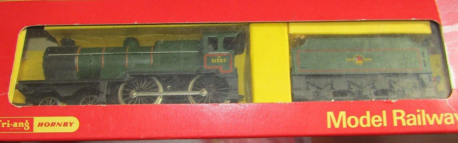 TRIANG HORNBY R350 SR CLASS L1 4-4-0 + TENDER BOXED  OO GAUGE