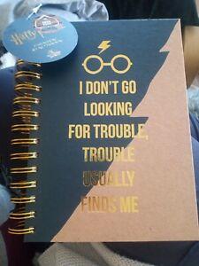 Geek Gear Harry Potter ring bound hardback A5 trouble notebook NEW geekgear