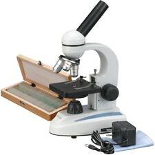 Amscope 40x 1000x Home School Student Compound Microscope 50 Prepared Slide Co