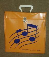 "Vintage Record 12"" LP Album VINYL Carrying Case Storage Box TARA TOY CORP USA"