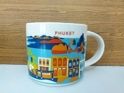 Collector Series Thailand Starbucks Mug YAH You Are Here PHUKET 14 oz