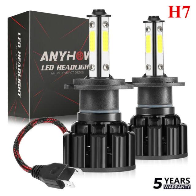 4-Side 9006 HB4 LED Car Headlight Low Beam Kit Light Bulbs 2000W 320000LM 6000K