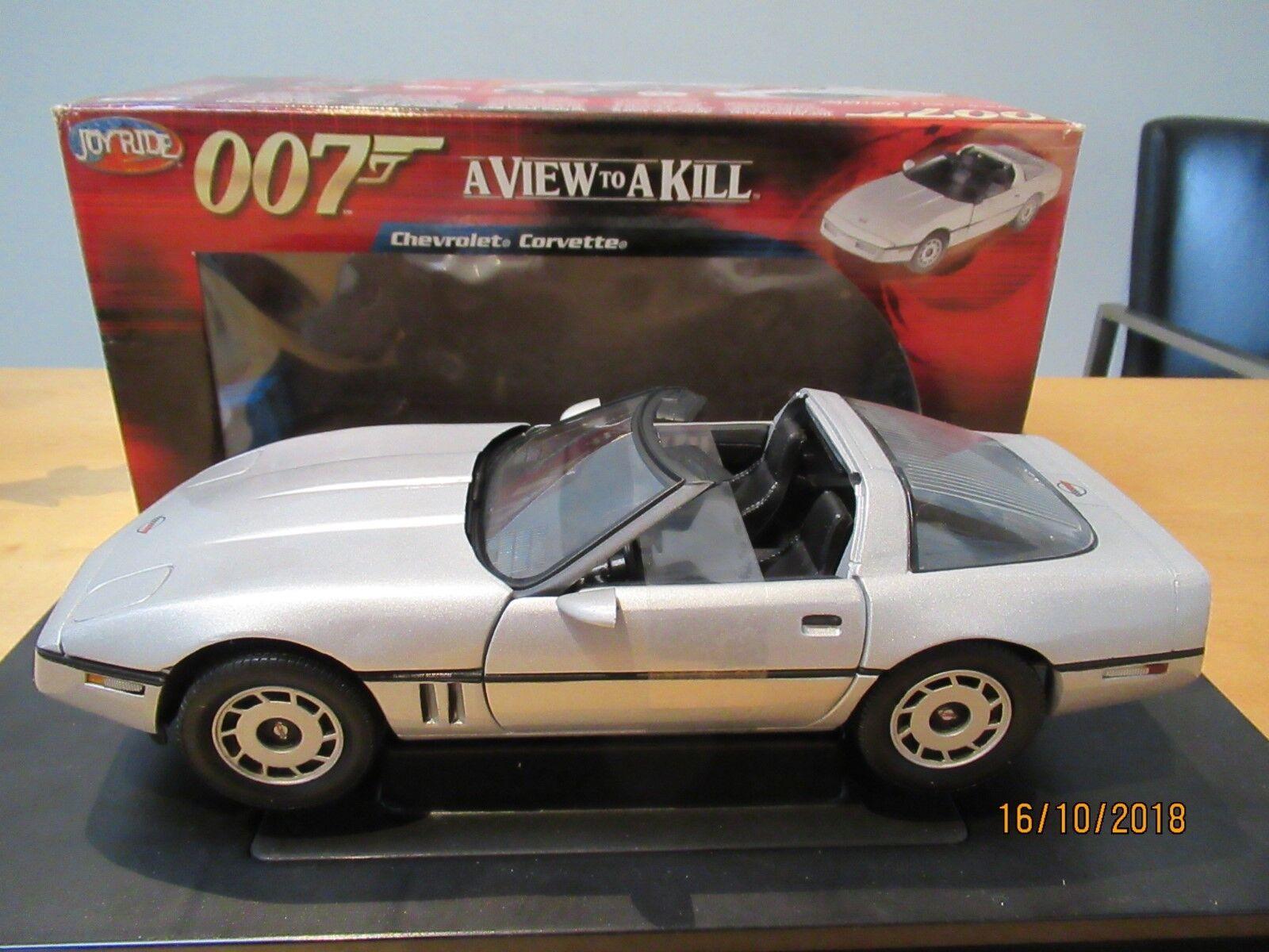 cómodo 007 James Bond Chevrolet Corvette a View to a a a Kill '85 ertl 1 18 33851 m&b 1 18  la mejor oferta de tienda online