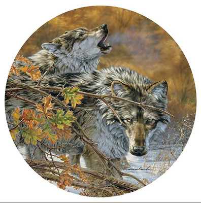 Wolf Regulator Clock by Lee Kromschroeder Body Language