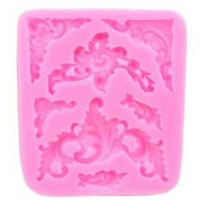Pretty-Flower-Floral-Design-Silicone-Mould-Cake-Topper-Wedding-Lace-Fondant-T