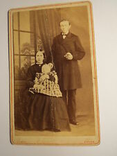 Essen - Familie - Mann & Frau mit Baby - Kleinkind - Kulisse / CDV
