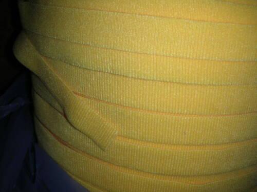 "Velcro 175381 UniMate One Wrap Strap 3//4/"" Yellow 15/' 18/"" Straps 10ct. NOS!"
