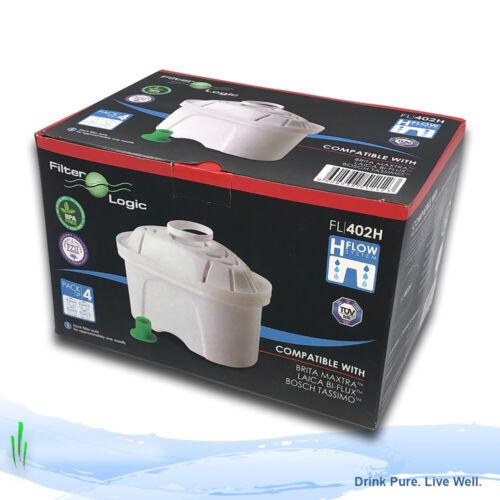 FILTRI BRITA MAXTRA Cartucce Filtro Compatibili da FilterLogic FL-402H 4 Confezione