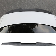 Car Rear Wing Lip Spoiler Tail Trunk Roof Trim Sticker Decor Carbon Fiber Look Fits Saturn Aura
