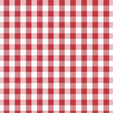 Red & White Check Vinyl Oil Cloth