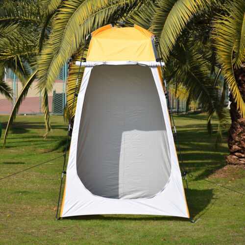 Lightweight Toilet Shower Utility Tent Camping Beach Privacy Mount Accessories