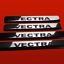 GLANZ VECTRA 410363 4 EDELSTAHL EINSTIEGSLEISTEN OPEL VECTRA B