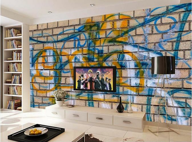 3D Graffiti Strokes 94 WallPaper Murals Wall Print Decal Wall Deco AJ WALLPAPER