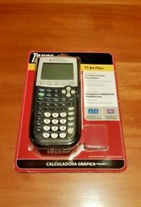 BRAND-NEW-SEALED-Texas-Instruments-TI-84-Plus-Graphic-Calculator-amp-Software