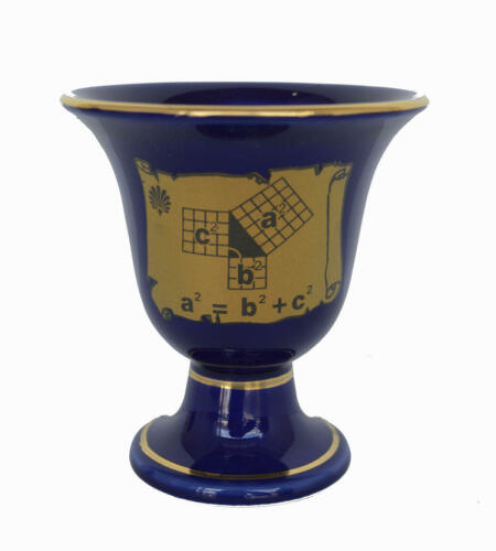 Pythagoras cup of justice Great Philosopher Tantalus Pythagorean theorem