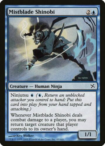 Betrayers of Kamigawa MTG Magic Common 4x x4 4 Mistblade Shinobi