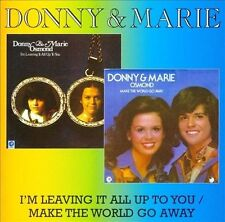 I'm Leaving It All Up to You/Make the World Go Away by Donny Osmond (CD,...