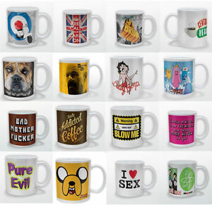 Coffee-Tea-Mugs-Funny-Rude-Sexy-Novelty-Over-50-Ceramic-Mugs