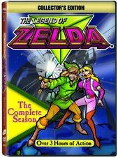 The Legend of Zelda - The Complete Season (DVD, 2012, 3-Disc Set, Collectors Edition)