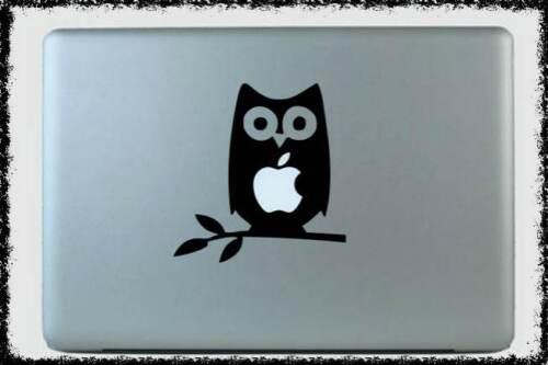 MacBook Owl Pro laptop Tree Branch Apple Sticker Vinyl