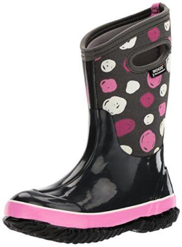 Bogs Kids Classic High Waterproof Insulated Rubber Neoprene Snow Boot