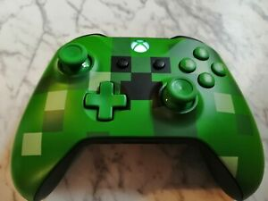Microsoft Xbox One Wireless Controller - Minecraft Creeper Edition