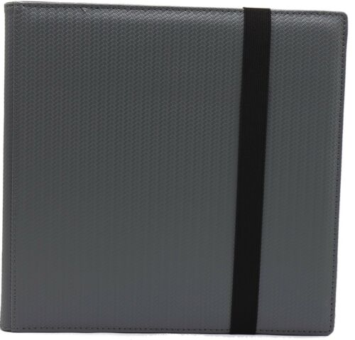 DEX Binder 12 Pocket Portfolio Limited Edtion Grey DEX Protection BRAND NEW