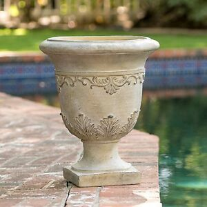 Image Is Loading 20 034 Tall Aged Roman Design Outdoor Garden