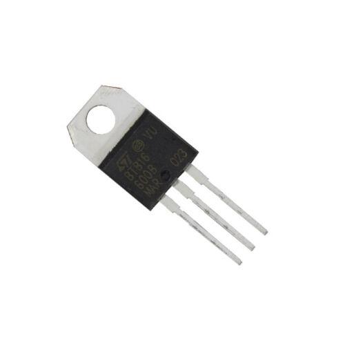 10PCS NEW  BTB16-600B BTB16-600 ST TO-220 Triac 600V 16A