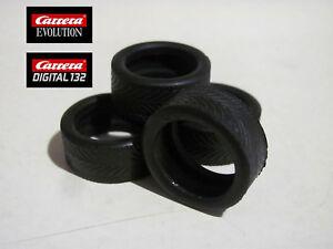 Carrera-Evolution-Digital-132-Reifen-Set-Golf-I-GTI-Tuner-Nissan-350Z-89333