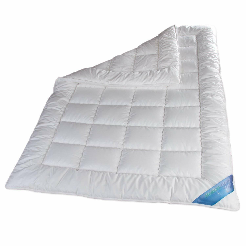 Schlafmond Medicus Clean Allergiker Ganzjahresdecke Mono Decke Mikrofaser 95°C