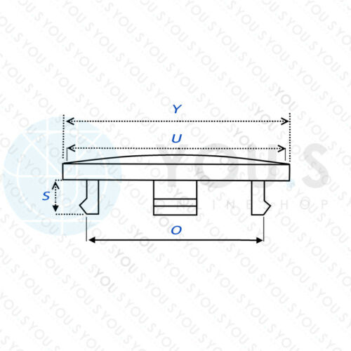 1 x tapa del cubo embellecedores llantas tapa 60,0-54,5 mm rh60-negro