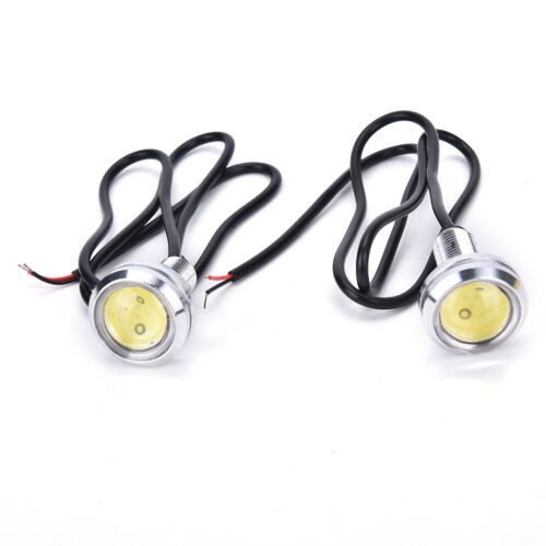 2X 23mm LED Eagle Eye White Daytime Running DRL Light Tail Car Auto 10W  jx