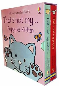 Usborne-Touchy-Feely-Thats-not-my-Puppy-and-Kitten-Collection-2-Books-Set-Pack