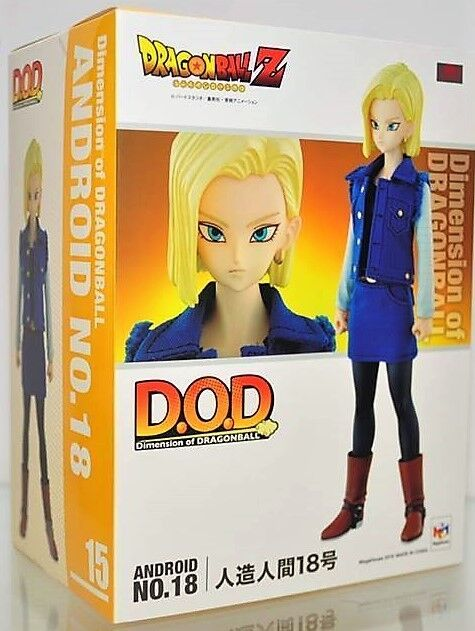 MegaHouse Dragon Ball Z DiSiesion of DRAGONBALL DOD Android  18 Figure