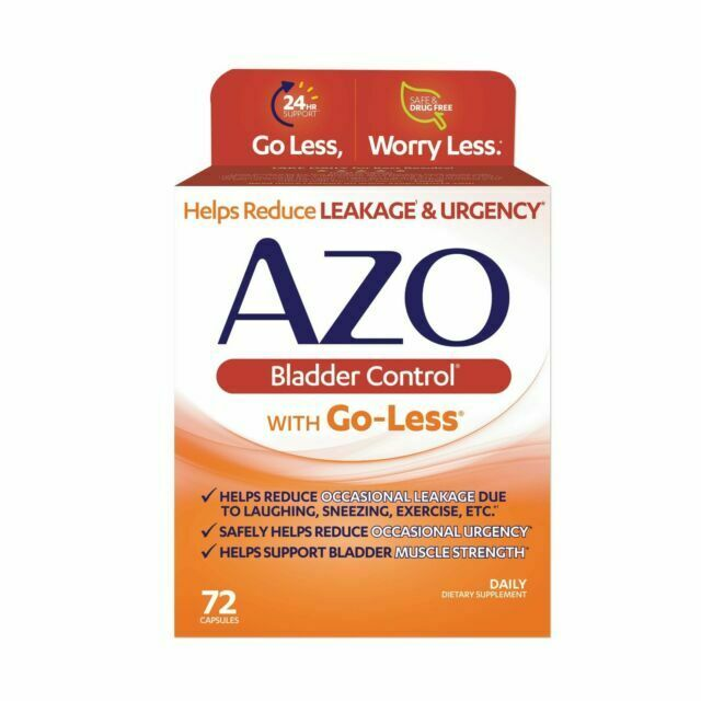 AZO Bladder Control With Go-Less 72 Capsules, EXP 12/2022, Brand New, S029 Z4 - $18.69