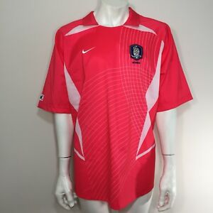 7806418cc Nike Vtg 2002 2004 South Korea Fifa World Cup Blank Pink Soccer ...