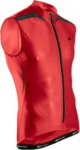 SUGOI RS Jersey Mens Large Matador Red  Cycling Pro Fit Sleeveless Road Bike  at the lowest price