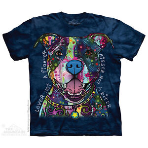 Russo Kisser T-Shirt by The Mountain. Big Face Dog Pets Sizes S-5XL ...